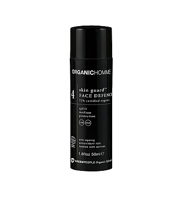 Ochronny lotion do twarzy SPF 15 — Organic Homme 4 Skin Guard Lotion
